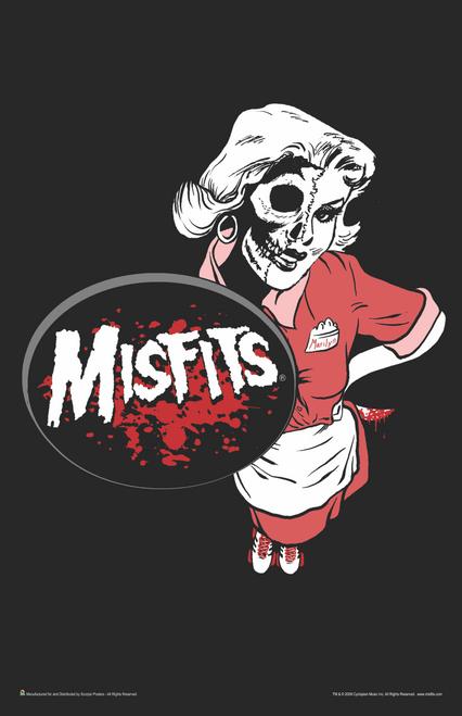 """Misfits Marilyn Mini Poster- 11"""" x 17"""""""