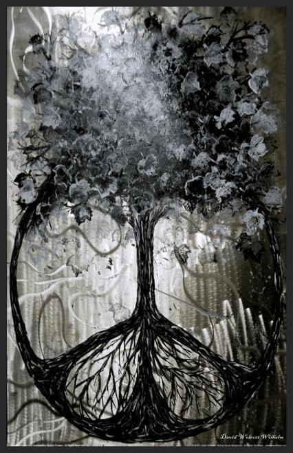"""Tree of Peace by David Wilhelm Mini Poster- 11"""" x 17"""""""