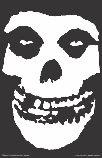 """Misfits Skull Music Mini Poster- 11"""" x 17"""""""