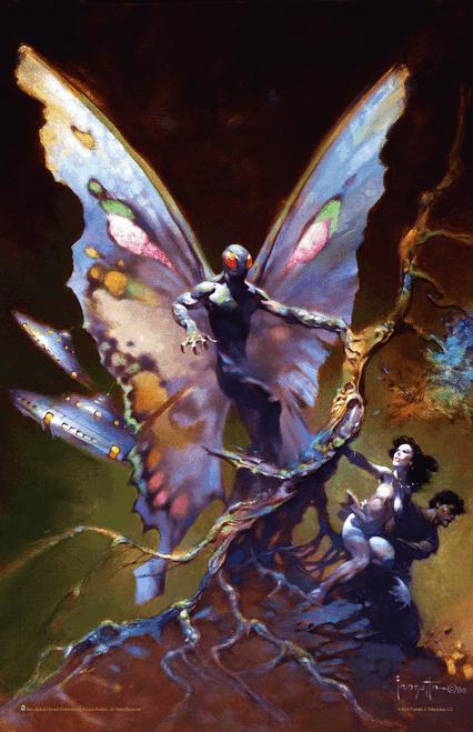 "Mothman by Frank Frazetta Fantasy Mini Poster- 11"" x 17"""