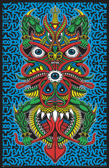 """Angel of Death by Chris Dyer Art Print Mini Poster- 11"""" x 17"""""""