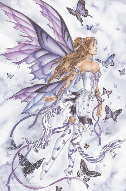 "Lavender Serenade by Nene Thomas Mini Poster - 11"" x 17"""