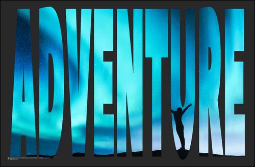 Adventure Mini Poster - 17x11