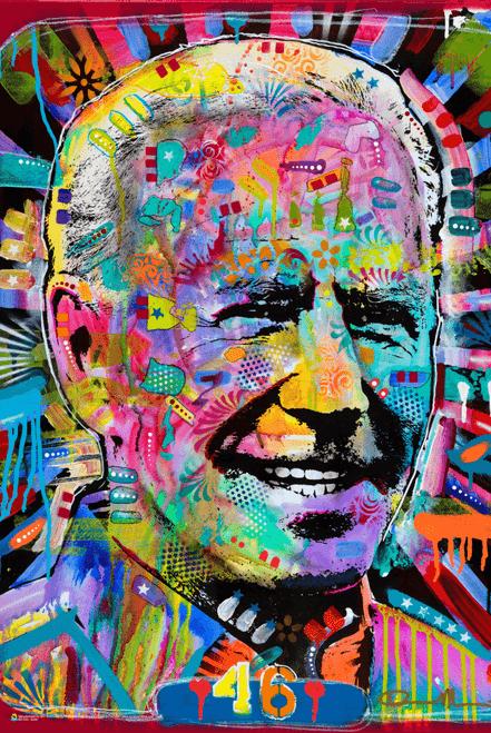 """Biden by Dean Russo Poster 24"""" x 36"""""""