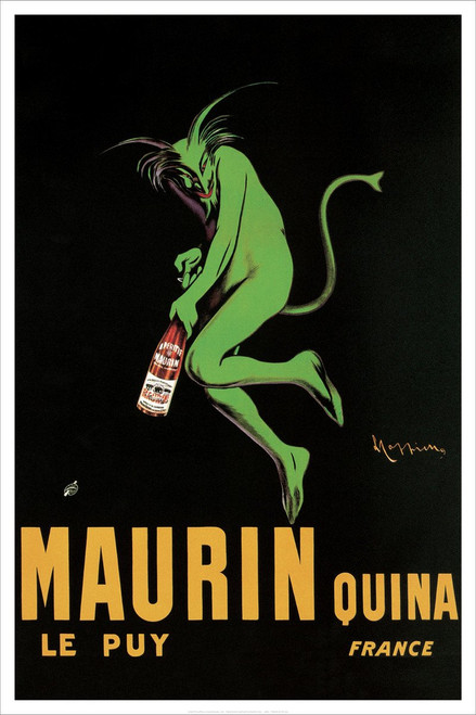 """Maurin Quina by Cappiello 1920 Poster - 24"""" x 36"""""""