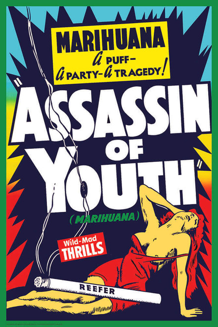 """Assassin of Youth Poster 24"""" x 36"""""""