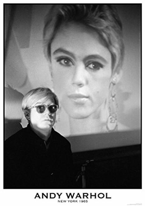 "Andy Warhol New York 1965 Poster 23.5"" x 33"""