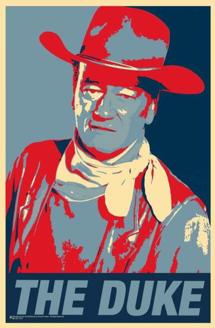 """John Wayne The Duke Mini Poster 11"""" x 17"""""""