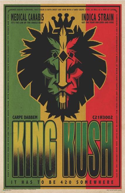 """King Kush Mini Poster 11"""" x 17"""""""