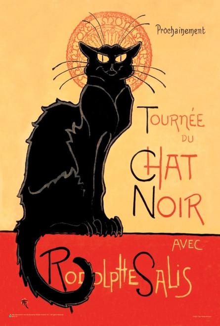 """Tournee du Chat Noir avec Rodolptte Salis Mini Poster 12"""" x 18"""""""