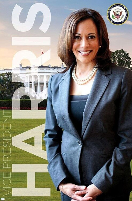 "Kamala Harris - Vice President Poster - 22.375"" x 34"""