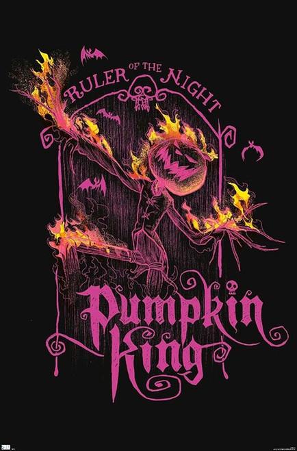 "Disney Tim Burton's The Nightmare Before Christmas - Ruler Neon Poster - 22.375"" x 34"""