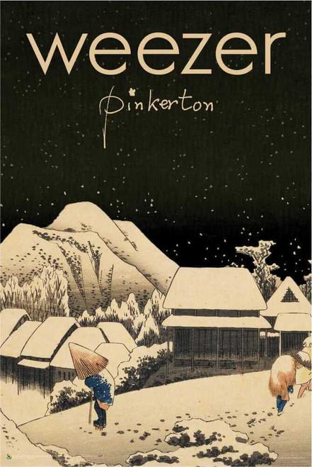 """Weezer Pinkerton Poster 24"""" x 36"""""""