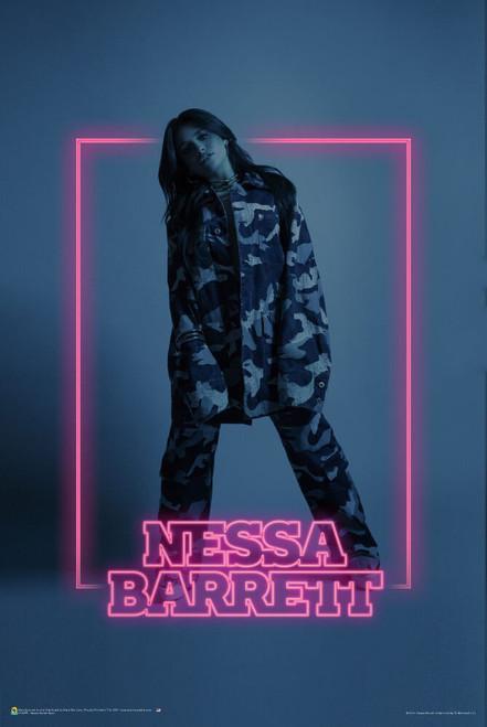 "Nessa Barrett - Neon Poster 24"" x 36"""