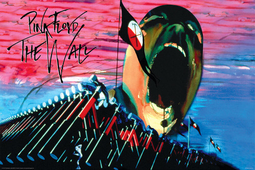 """Pink Floyd The Wall Hammers & Face Poster 36"""" x 24"""""""