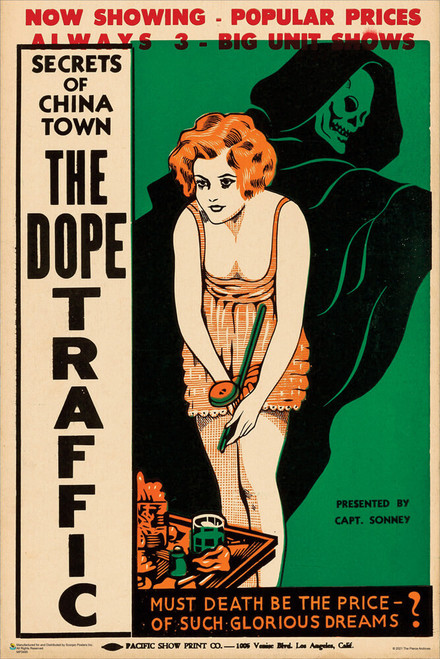 "The Dope Traffic 1933 Mini Movie Poster 12"" x 18"""