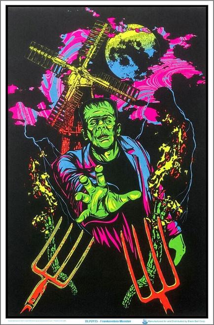 """Frankenstein Monster Blacklight Poster 23"""" x 35"""""""