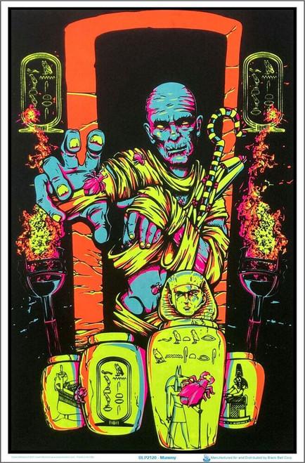 "Mummy Blacklight Poster 23"" x 35"""