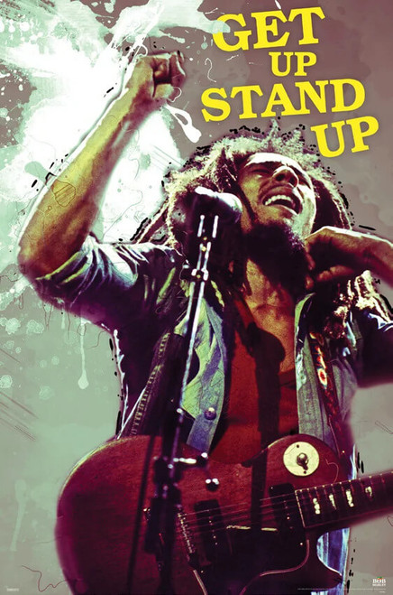 """Bob Marley - Stand Up Poster 24"""" x 36"""""""