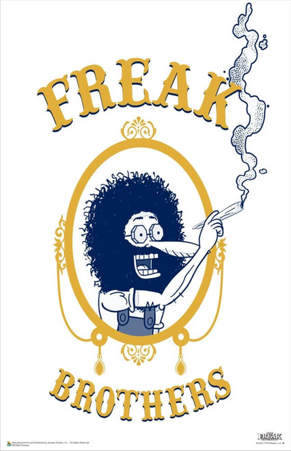 """The Freak Brothers - Phineas Poster 11"""" x 17"""""""