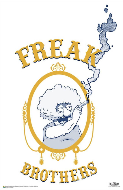 """The Freak Brothers - Fat Freddy Poster 11"""" x 17"""""""