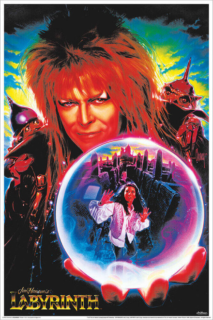 """Labryinth - Non-Flocked Blacklight Poster 24"""" x 36"""""""