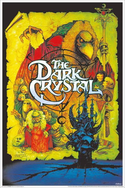 """Dark Crystal - Non-Flocked Blacklight Poster 24"""" x 36"""""""