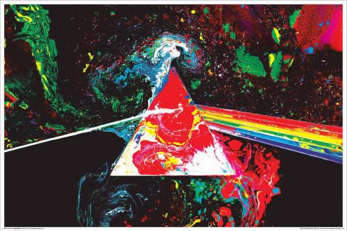 "Pink Floyd - Non-Flocked Blacklight Poster 36"" x 24"""