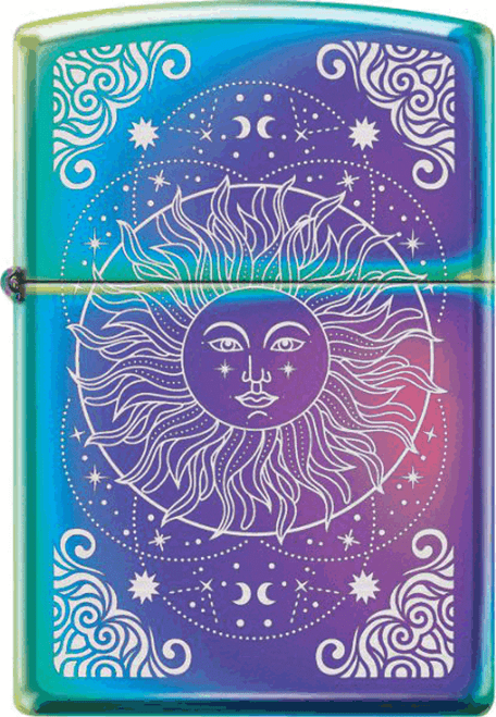 Sun Celestial Spectrum Zippo Lighter