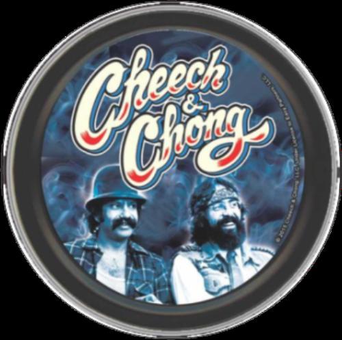 "Stash Tins - Cheech & Chong - Boys In Blue 3.5"" Round Storage Container"