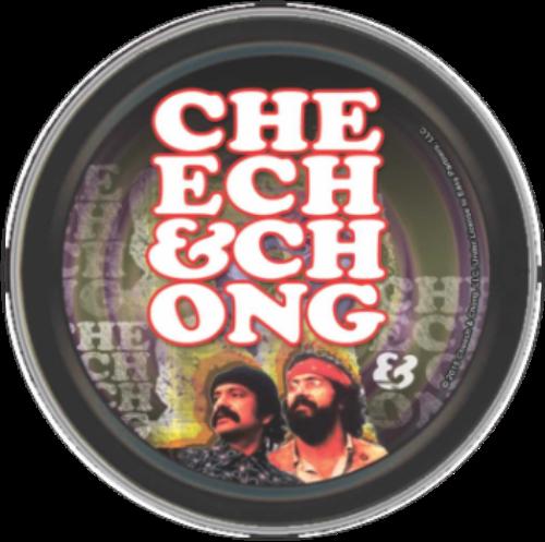 "Stash Tins - Cheech & Chong - Retro 3.5"" Round Storage Container"