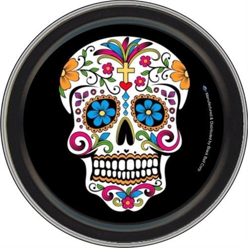 """Stash Tins - Sugar Skull 3.5"""" Round Storage Container"""