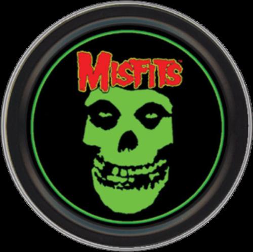"Stash Tins - Misfits Classic Fiend Skull 3.5"" Round Storage Container"