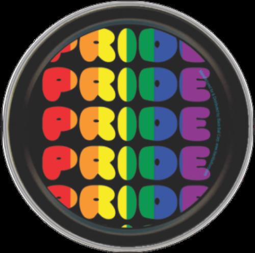 "Stash Tins - Pride 3.5"" Round Storage Container"