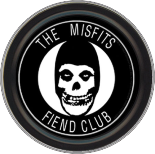 """Stash Tins - Misfits Fiend Club 3.5"""" Round Storage Container"""