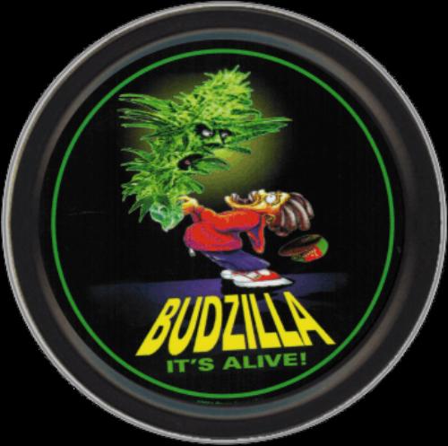 "Stash Tins - Budzilla 3.5"" Round Storage Container"
