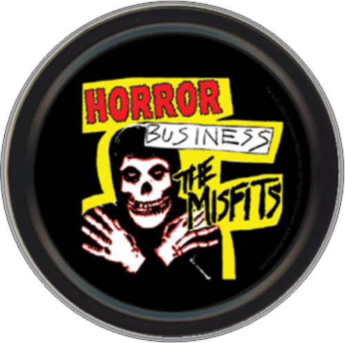 "Stash Tins - Misfits Horror Business 3.5"" Round Storage Container"
