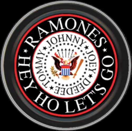 "Stash Tins - Ramones Eagle Logo 3.5"" Round Storage Container"