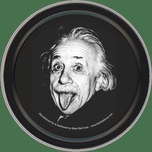 """Stash Tins - Einstein Tongue 3.5"""" Round Storage Container"""
