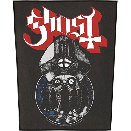 """Ghost Papa Warriors - Woven Back Patch 11.25"""" x 14"""" Image"""