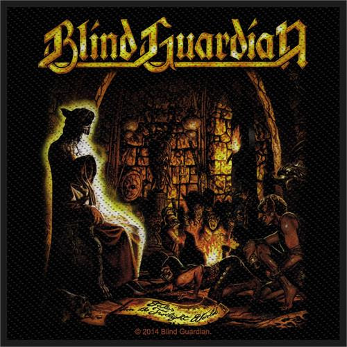 """Blind Guardian Tales From The Twilight - Woven Sew On Patch 4"""" x 4"""" Image"""