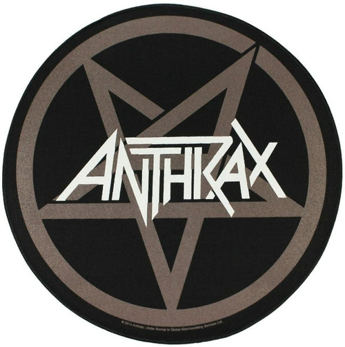 Antrax Pentathrax Round Back Patch