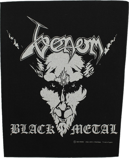 Venom 'Black Metal' Back Patch