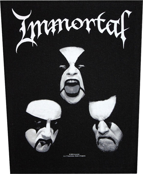 Immortal 'Blashyrkh' Back Patch
