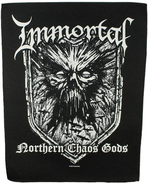 Immortal 'Northern Chaos Gods' Back Patch