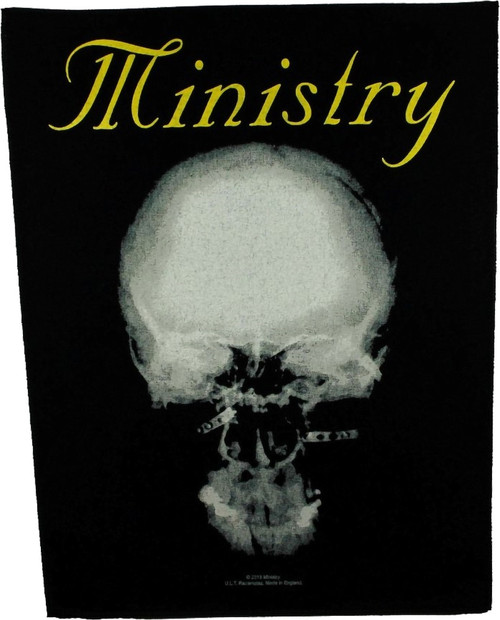 Ministry 'The Mind Is A Terrible Thing To Taste' Back Patch