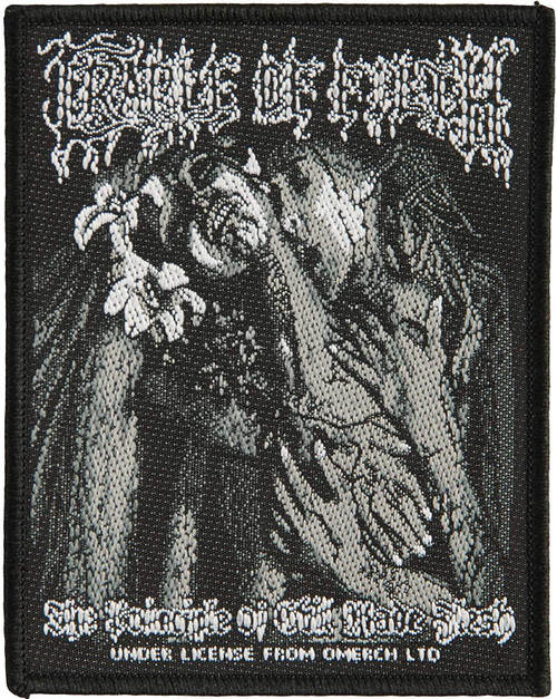 Cradle of Filth - The Principle of Evil Made Flesh Printed Woven Patch 8cm x 10cm