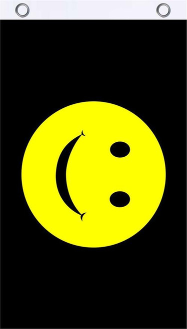 Smiley Face Fly Flag 3' x 5' Image