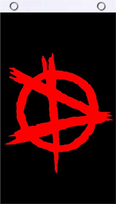 Anarchy Fly Flag 3' x 5' Image