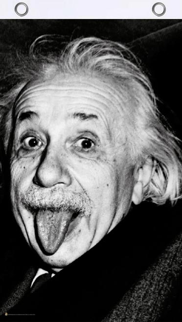 Einstein Tongue Fly Flag
